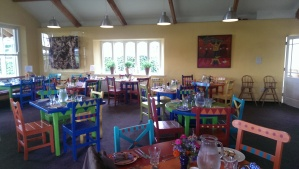 the Cookery school dining room